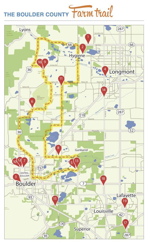 Boulder County Farm Trail Scenic Drive