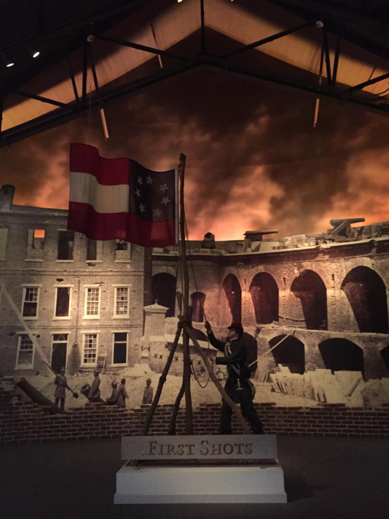 National Civil War Museum - Interior - by Mackenzie Carpenter - Oct. 2015