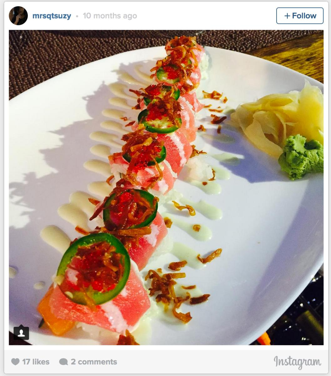 Sole Sushi Instagram