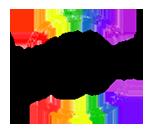 made in cbus logo black rainbow