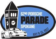 62nd Porsche Parade Logo