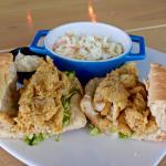 Noizy Oyster Fish Sandwich