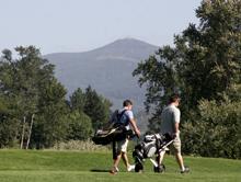 Emerald Valley Golf Club by Julia Carr