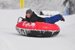 Snow Tubing at Seven Springs