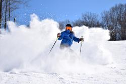 Skiing at Hidden Valley Resort