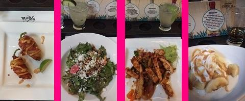 Macayo's Tequila Dinner - meal pic