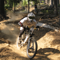 Mountain Biking on Willamette Pass Resort