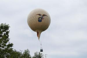 Intrepid Civil War Balloon at GCVM