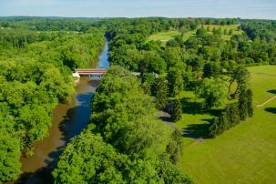 Greenville Delaware Aerial Photo