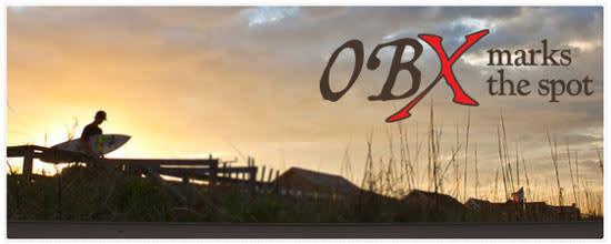 OBX Surfer Sunset