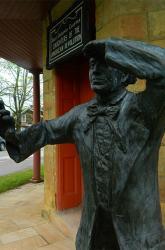 Addison Statue
