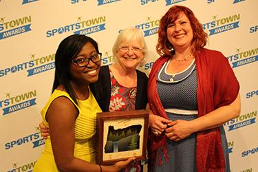 SportsTown Awards 2016 Sustainable Event of the Year Big O Tournament