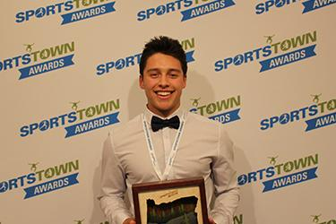 SportsTown Awards 2016 Male Athlete of the Year Payton Presley