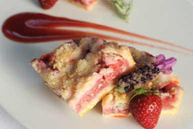Strawberry tart at St. John's