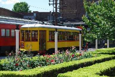 Trolley at the Chattanooga Choo Choo