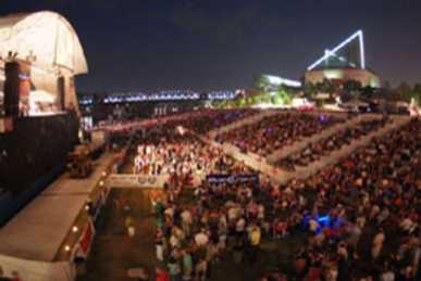 Coke Stage at Riverbend Festival