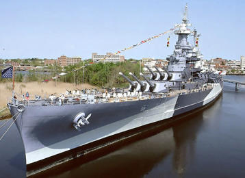Myrtle Beach Activities | Battleship North Carolina