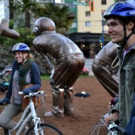 Cycle City Tours - Amazing Laughter Public Art