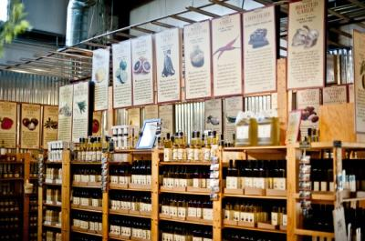 Queen Creek Olive Mill Shelves