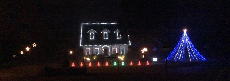 Cruze's Christmas Light Show