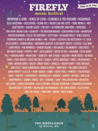 Firefly Music Festival Lineup 2016