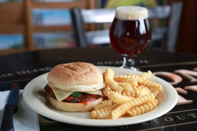 High Life Lounge Burger