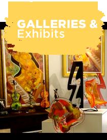 Button Galleries Exhibits
