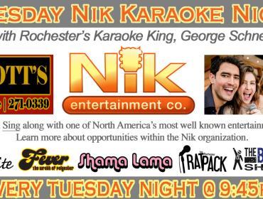 Tuesday Nik Karaoke