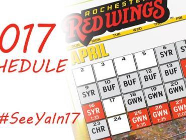 Red Wings Opening Weekend