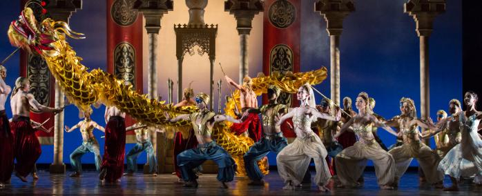 Golden Dragon Performance by Houston Ballet