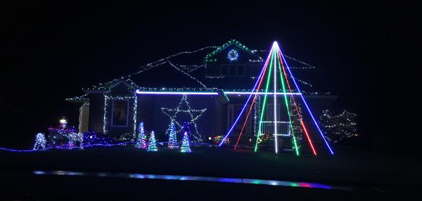 Best Christmas Lights Display - Monte Carlo Drive