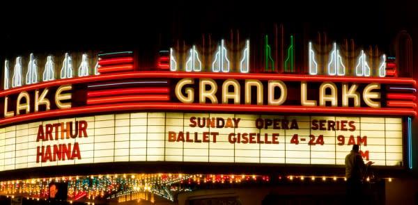 Grand Lake theater oakland