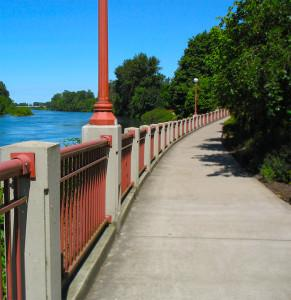 North Bank trail in Eugene
