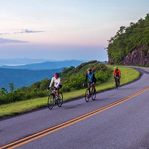 Cycling on the Parkway