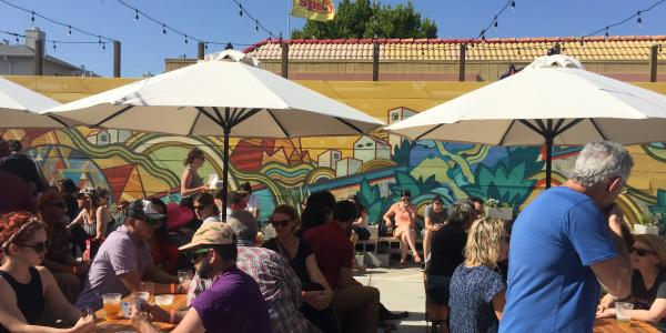 Temescal Brewing Beer Garden