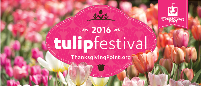 Thanksgiving Point Tulip Festival 2016
