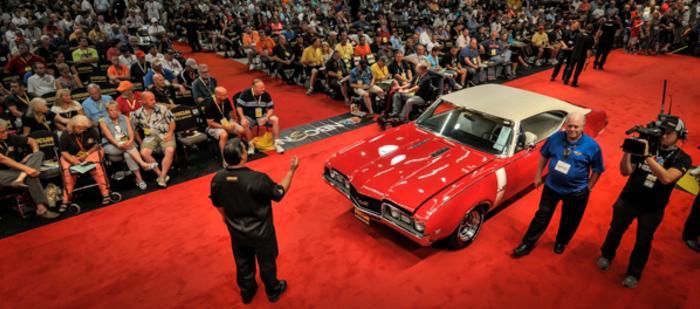Mecum Car Auction, PA Farm Show Complex