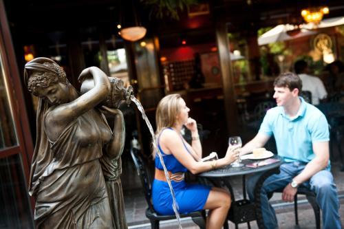 Couple at Cafe Intermezzo