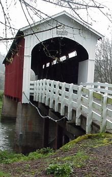 Currin Covered Bridge by Debbie Williamson Smith