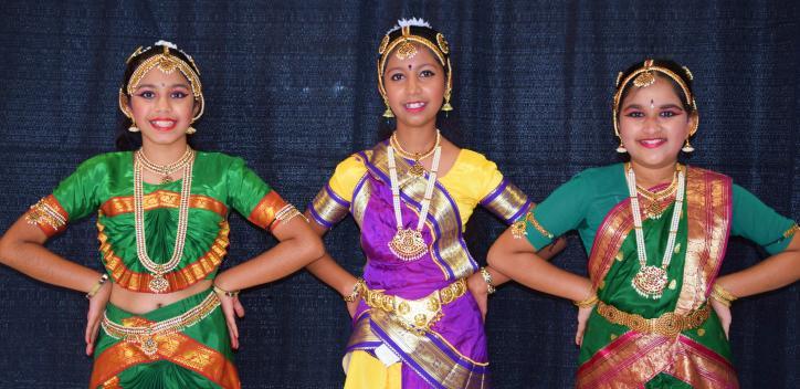 Indian Dancers at Culture Fest 2015