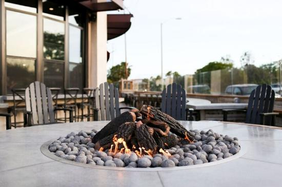 SeaSalt Outdoor Fire Pit - Photo by Candace Rock