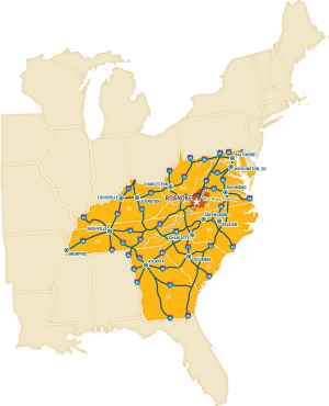 RVCVB Map