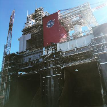 NASA test stand
