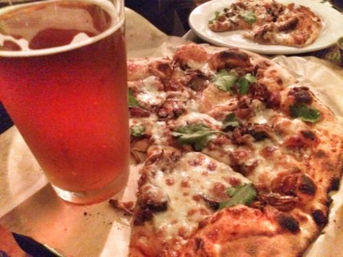 Pizza & Beer at Harmony Brewing Company