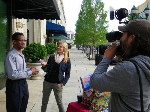 WAGA TV Interview Press