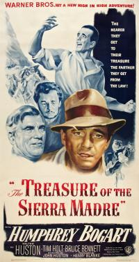 The Treasure of the sierra madre PAC movie poster