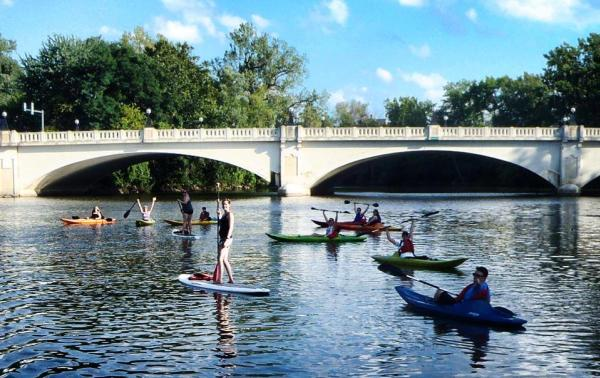 Paddlefest in Fort Wayne, IN