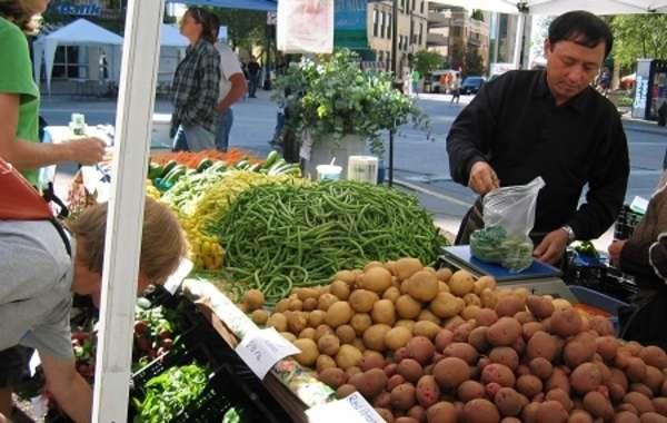 Wednesday Dane County Farmers' Market