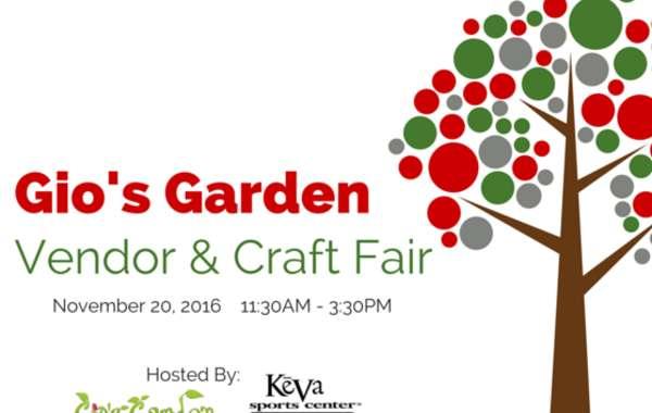 Gio's Garden Holiday Vendor & Craft Fair