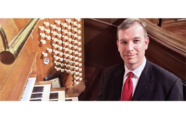 ORGANIST ERIK WM. SUTER in Recital